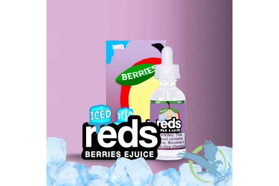 Berries Iced Reds Apple 60ml - Tinh Dầu Vape Mỹ