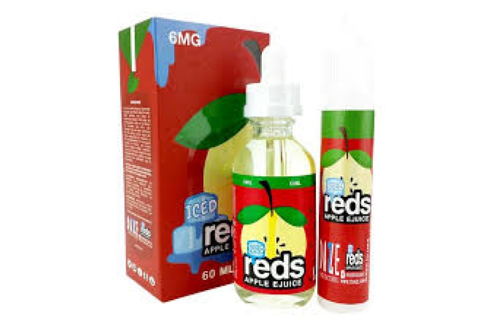 Iced Reds Apple 60ml - Tinh Dầu Vape Mỹ