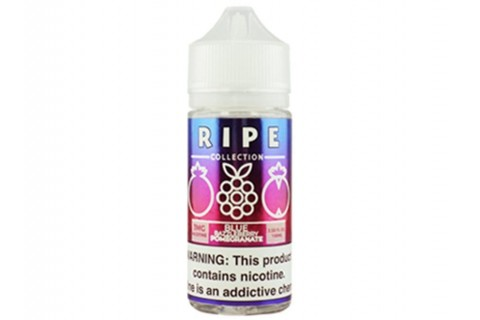 Ripe Collection 100mL E-Liquid - Blue Razzleberry Pomegranate