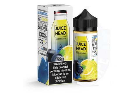 Juice Head Blueberry Lemon 100ml - Tinh Dầu Vape Mỹ