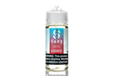 USA Vape Lab Menthol Strawberry Watermelon 100ml - Tinh Dầu Vape Mỹ