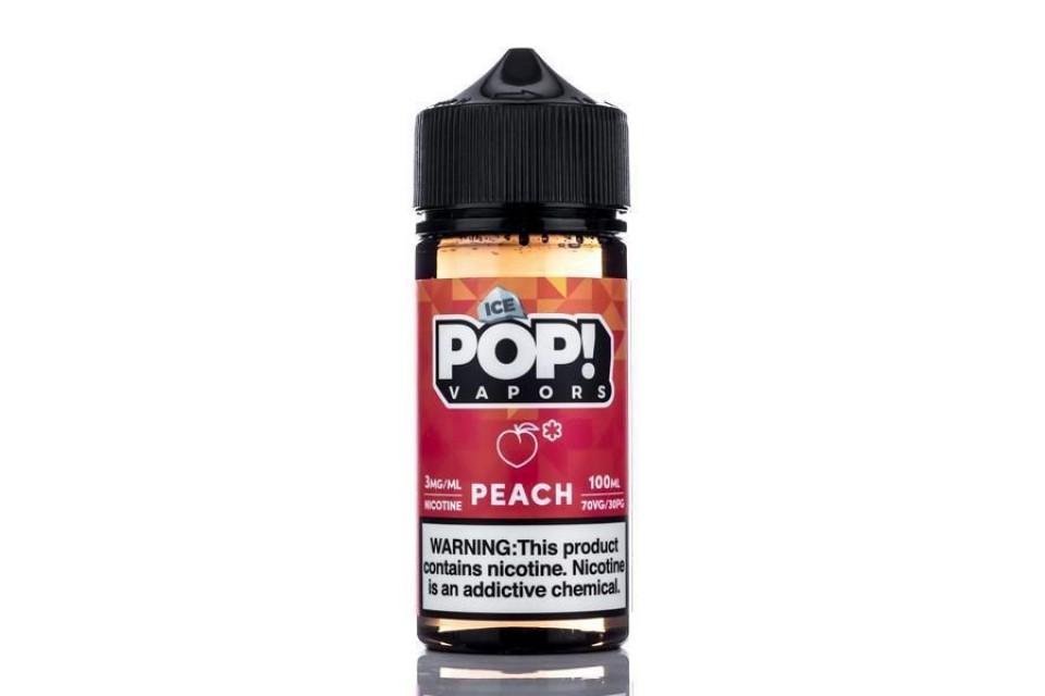 Iced Pop Peach 100ml - Tinh Dầu Vape Mỹ