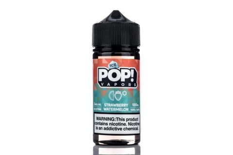 Iced Pop Strawberry Watermelon 100ml