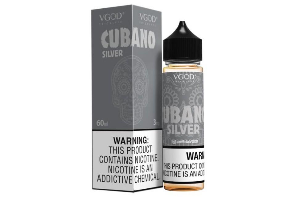 Vgod Cubano Silver 60ml - Tinh Dầu Vape Mỹ