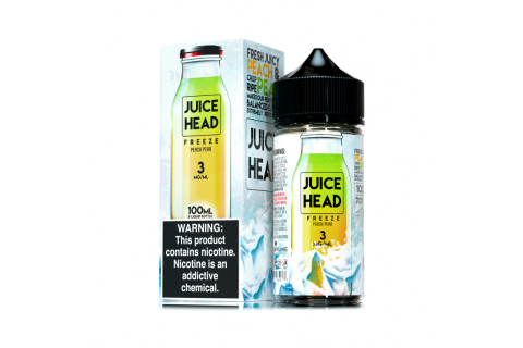 Juice Head Freeze Peach Pear 100ml - Tinh Dầu Vape Mỹ
