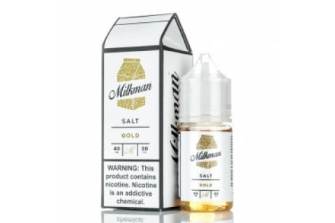 THE MILKMAN SALT GOLD 30ML