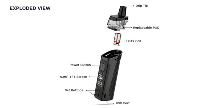 Bộ sản phẩm Vaporesso Target PM80 Kit